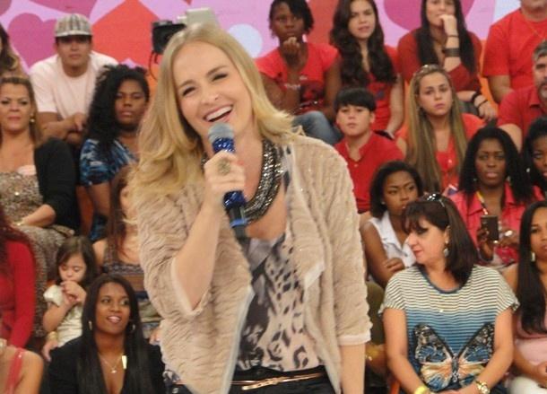 Angélica participa do programa