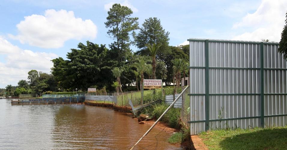 Irregularidades no lago Paranoá, em Brasília