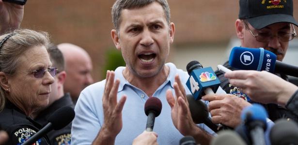Ruslan Tsarni, tio dos dois jovens suspeitos do atentado na Maratona de Boston - Allison Shelley/Getty Images/AFP