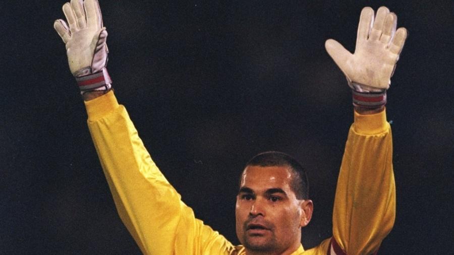 Chilavert na Copa América de 1997 - Getty Images