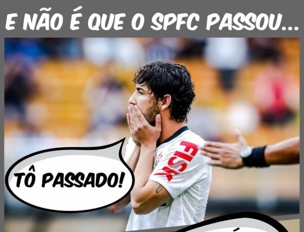 Corneta FC: Corintianos e palmeirenses tremem com classificação do São Paulo