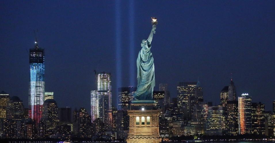 Estátua da Liberdade, em Nova York, EUA
