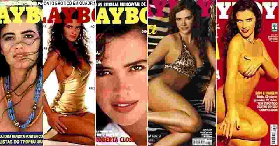 Luma de Oliveira foi cinco vezes capa da revista Playboy - Reprodução
