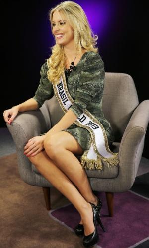 Sancler Frantz disputou o título de Miss Brasil World 2013 com outras 36 candidatas do país todo
