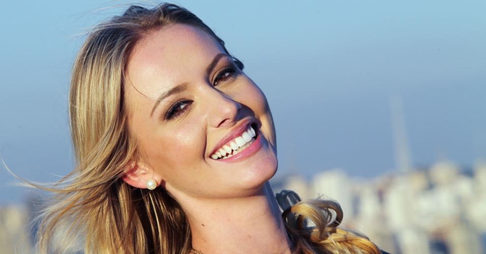 Uma das personalidades que a nossa miss mais admira é a atriz Angelina Jolie