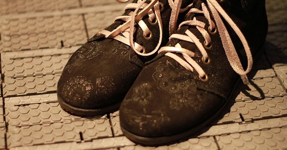 19 abr. 2013 - Detalhe para o sapato Docaique de Iasmine