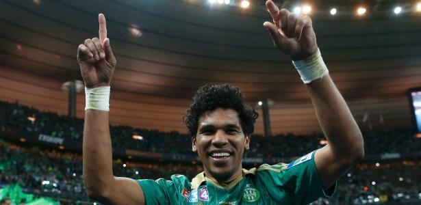 Brandão fez gol que deu um título francês ao Saint-Etienne após 32 anos