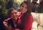 Ex-BBB Andressa publica foto no colo de Nasser - Reprodução/Twitter