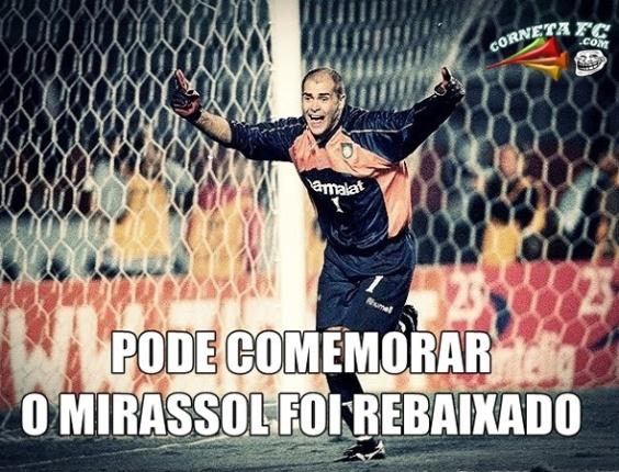 Corneta FC: Aliviados, palmeirenses comemoram rebaixamento do Mirassol