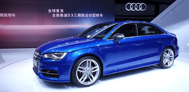 Audi A3 sedã na variante S3: mercado chinês conhece de perto o rival do Mercedes CLA - Divulgação