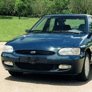 Ford Escort ano-modelo 1997 - Arquivo Folha