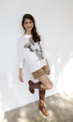 "23.abr.2013 - A atriz Giovanna Grigio interpretará a Mili no remake ""Chiquititas"""