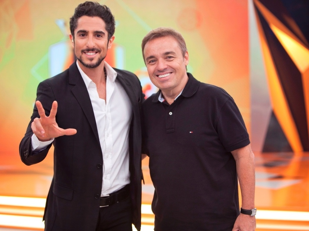 23.abr.2013 - Gugu Liberato participa do programa