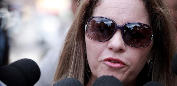 Sônia de Fátima Moura, em 2013, quando foi relizado o julgamento de Bruno