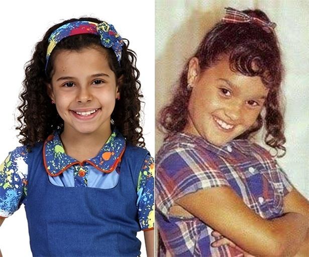 A atriz Gabriella Saraivah, 8, será a caçula Tati do orfanato