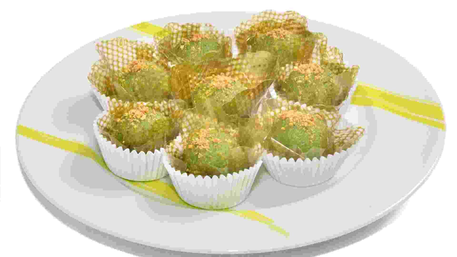 Docinho verde  do Livro 50 receitas nutritivas com frutas e hortaliças do Programa Alimente-se Bem do SESI - Divulgação