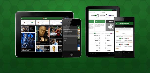 O UOL lança o aplicativo UOL Copa com a cobertura completa da Copa do Mundo no Brasil