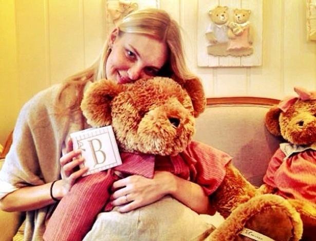 24.abr.2013 - Carol Trentini está grávida de seis meses