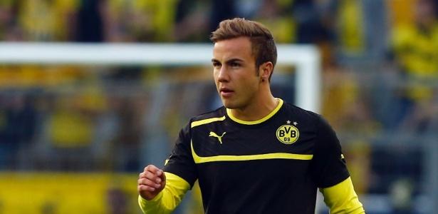 Mario Gotze acertou retorno ao Borussia Dortmund - REUTERS/Ina Fassbender