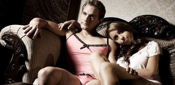 Empresa australiana lança conjunto de lingerie um tanto atrevido exclusivamente para homens - Divulgação