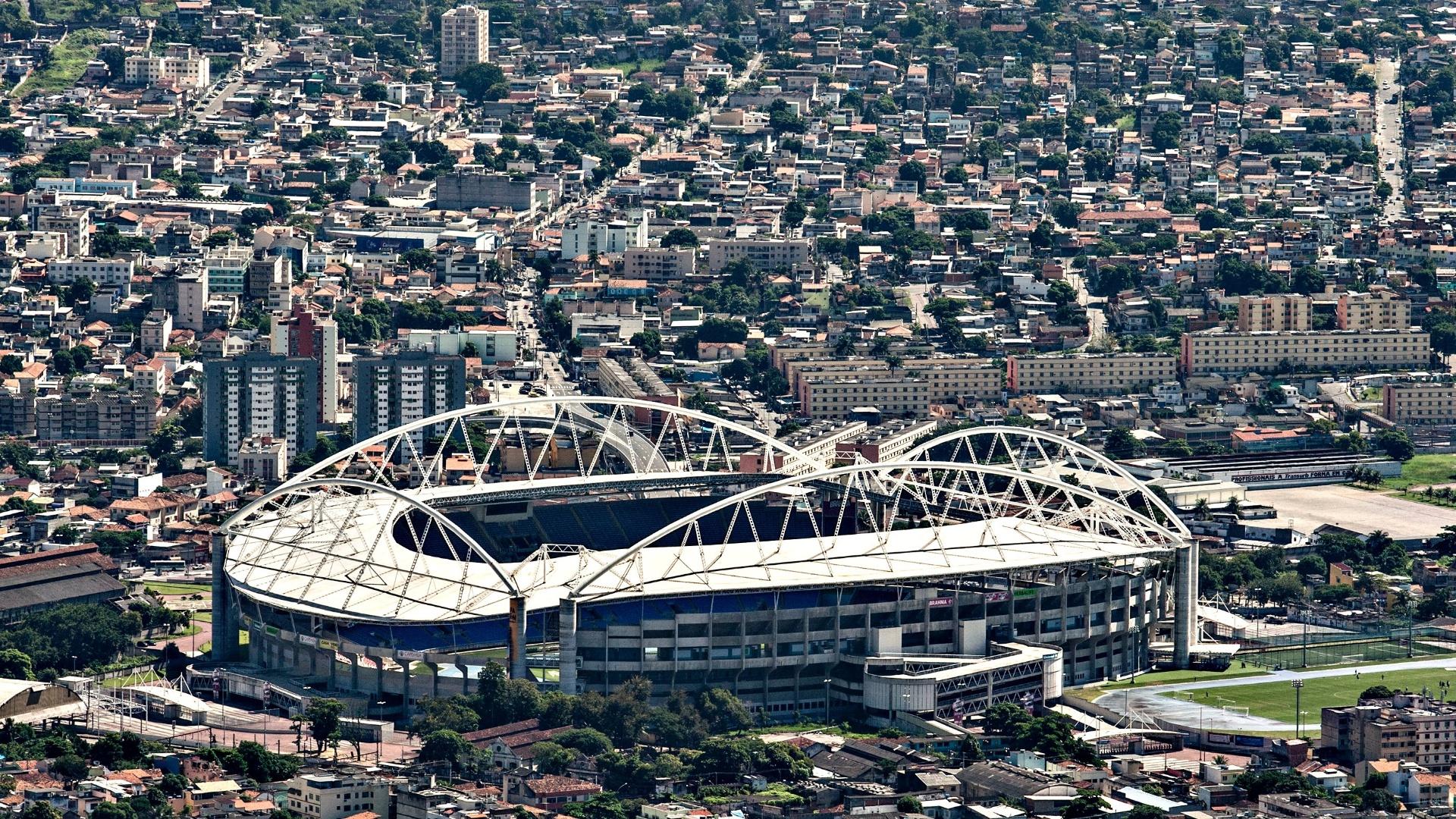 Vista panorâmica do Estádio Olímpico João Havelange