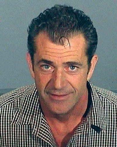 28.jul.2006 - Mel Gibson foi detido pela polícia de Los Angeles por dirigir bêbado e em excesso de velocidade