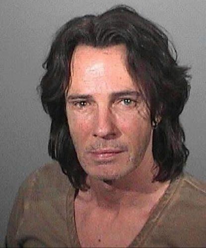 2.mai.2011 - O cantor Rick Springfield foi detido por suspeita de dirigir alcoolizado, em Los Angeles
