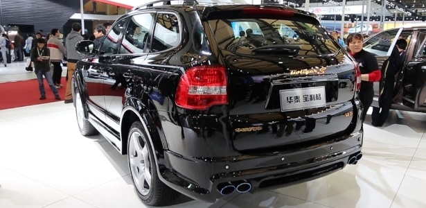 """Hawtai Boliger é um SUV que imita a geração anterior do Cayenne; até o """"S"""" da versão esportiva está lá - Divulgação"""