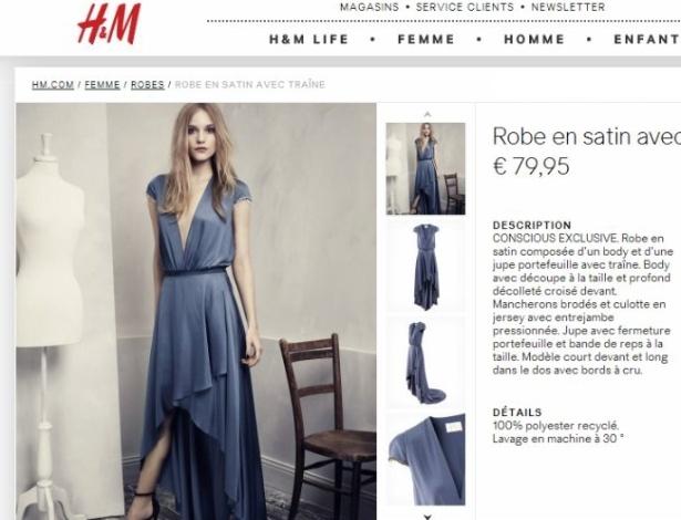 27.abr.2013 - O anúncio da loja H&M causa estranheza quando olhamos para a perna à mostra da modelo. A posição do membro não acompanha a posição do quadril. Isso leva a crer que a parte de cima da imagem e a de baixo não são da mesma foto -- provavelmente unidas com uma mãozinha do Photoshop