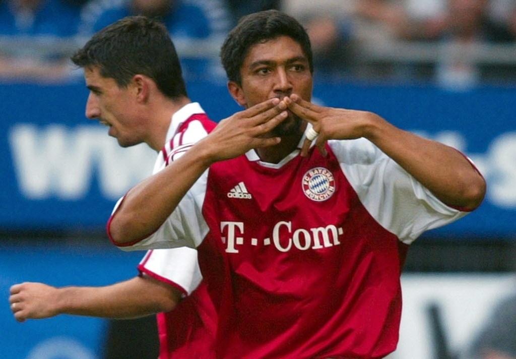 Elber foi ídolo no Bayern de Munique e campeão europeu pelo clube em 2001