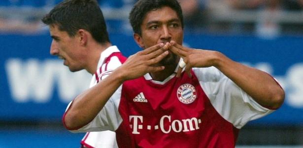 Elber foi ídolo no Bayern de Munique e campeão europeu pelo clube em 2001 - AFP PHOTO BONGARTS/SANDRA BEHNE
