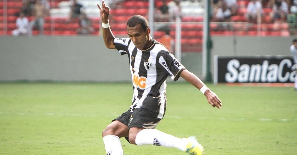 Richarlyson, do Atlético-MG, durante a vitória sobre o Boa Esporte, pelo Campeonato Mineiro (7/4/2013)