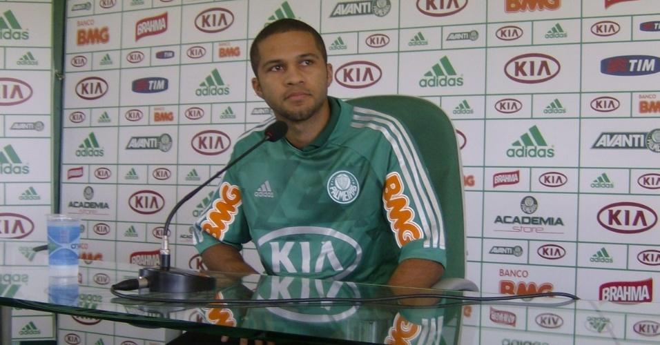 Serginho, novo reforço do Palmeiras