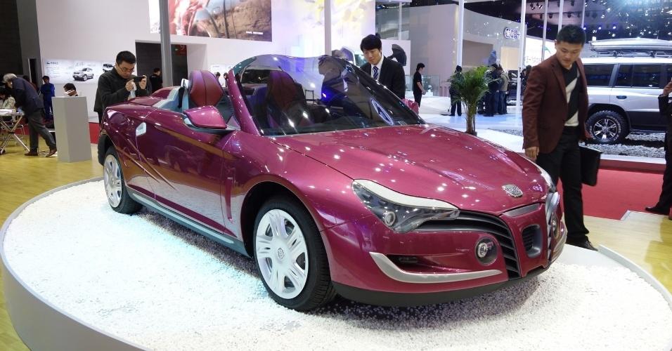 Tongji Auto conversível