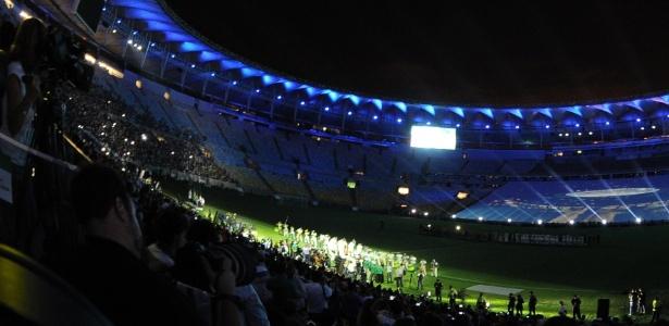 Apesar do evento de sábado, o Maracanã só voltará a ser usado após 15 de maio - AFP PHOTO/VANDERLEI ALMEIDA