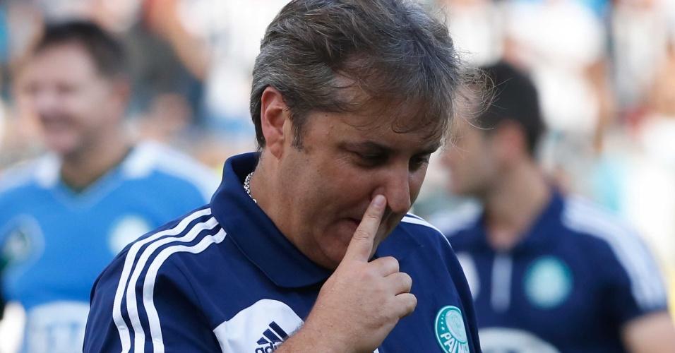Gilson Kleina comanda o Palmeiras no duelo contra o Santos na Vila