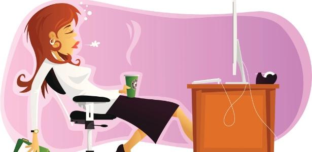 Trabalhar demais pode ser resultado de sobrecarga, mas também de desorganização - Thinkstock