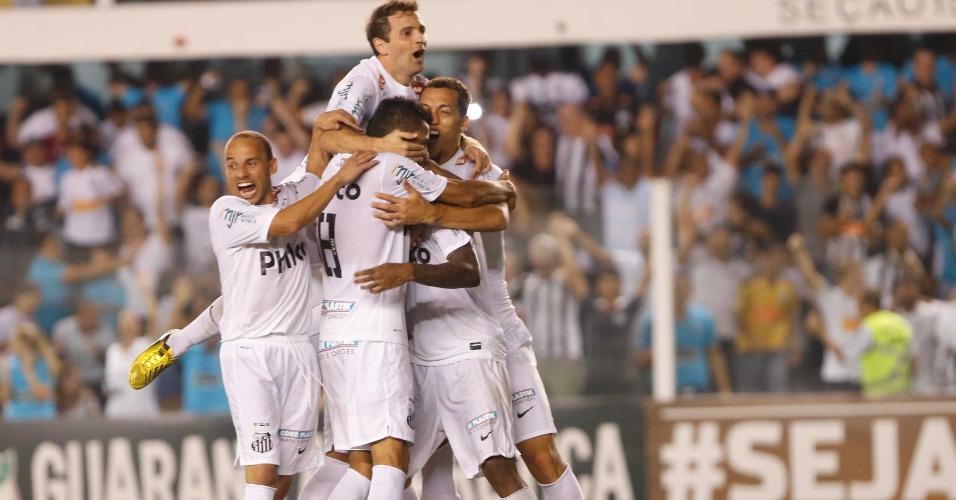 Santos celebra vitória conquistada nas penalidades: 4 a 2