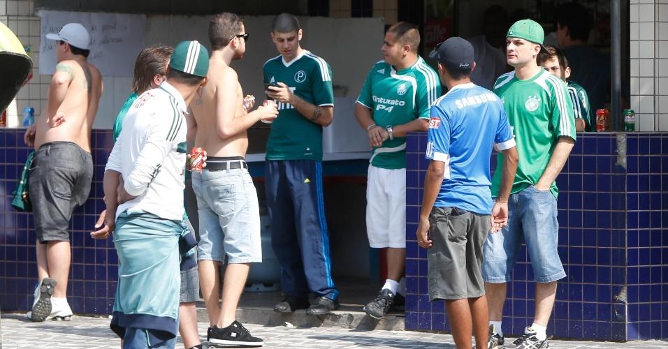 Torcedores do Palmeiras serão minoria na Vila para clássico contra o Santos