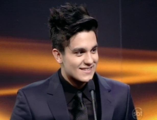 28.abr.2013 - Luan Santana participa do Troféu Imprensa 2013
