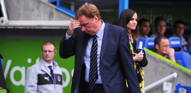 Harry Redknapp machucou acidentalmente sua esposa Sandra