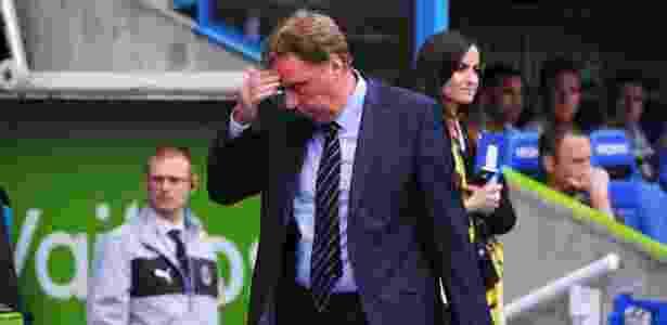 Harry Redknapp machucou acidentalmente sua esposa Sandra - Michael Regan/Getty Images