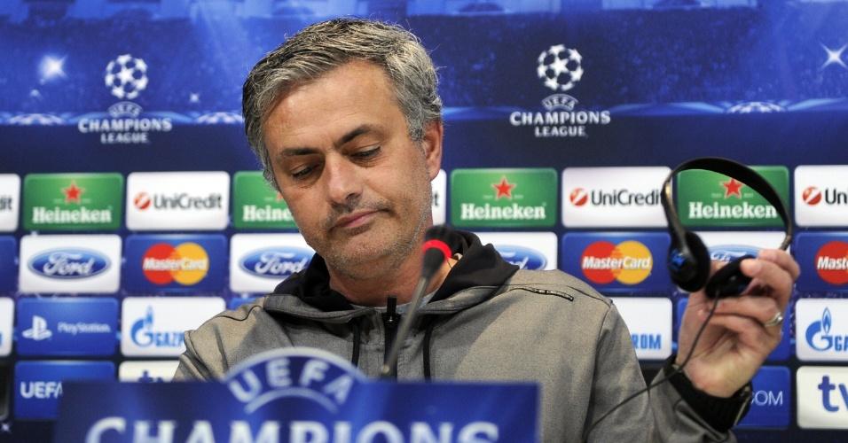 29.abr.2013 - José Mourinho usou a frase