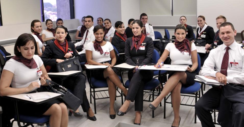 Academia de Treinamento da TAM em São Paulo
