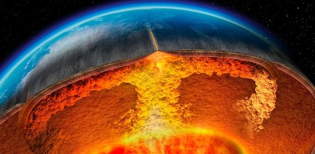 Para pesquisadores, pela primeira vez há consenso sobre temperatura do núcleo da Terra - BBC