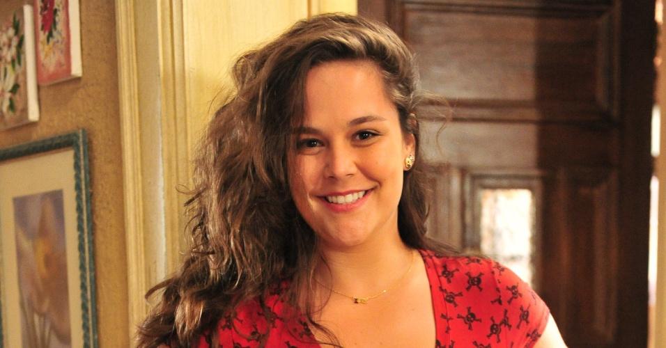 """Tatiana Alvim é Socorro em """"Sangue Bom"""""""