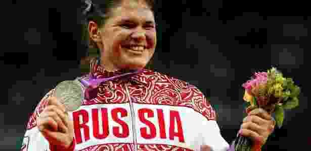 Darya Pishchalnikova conquistou a medalha de prata nos Jogos Olímpicos de Londres-12 - Jamie Squire/Getty Images