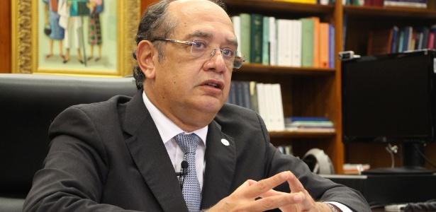 Para Gilmar Mendes, não há na Constituição previsão de novas eleições
