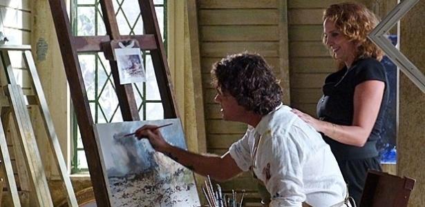 """Em """"Sangue Bom"""", Perácio falsifica quadros de Renoir para enganar a própria mãe"""