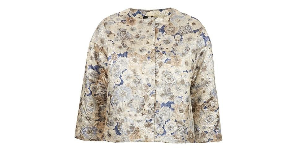 Casaqueto de algodão e poliéster; R$ 369, da Topshop